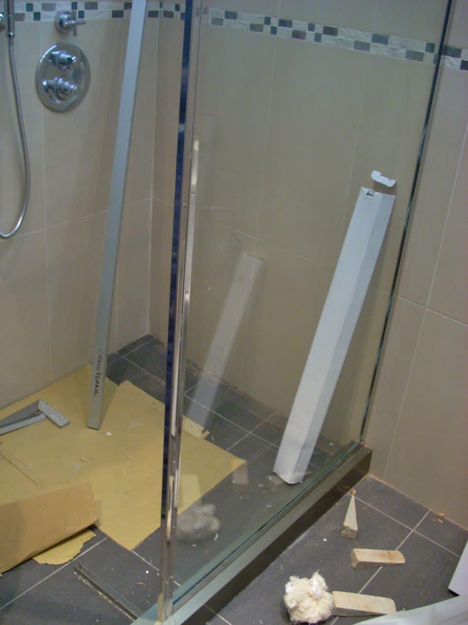algunos de nuestros trabajos de mamparas de bao ducha o cabina