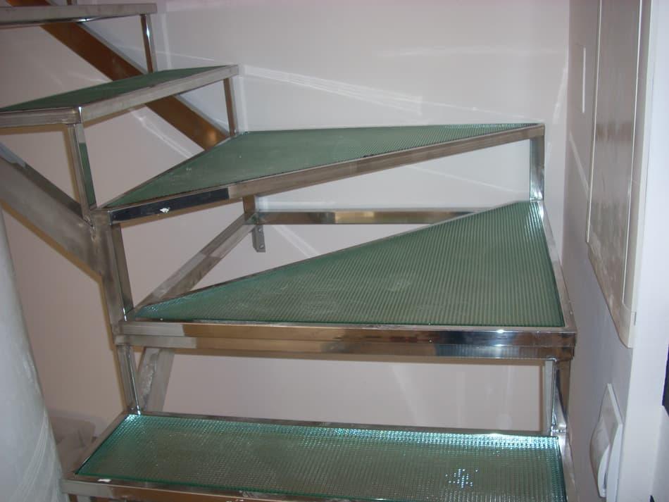 Techos suelos y escaleras de cristal cristaler a vidrio - Escaleras de techo ...